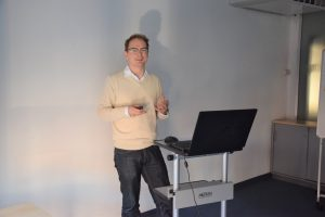 Energiesymposium der Hochschule Stralsund, Dr. Malte Schümann von EXYTRON.